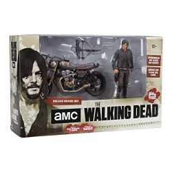 Walking Dead-Daryl Dixon With Custom Bike