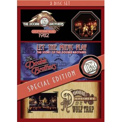 Doobie Brothers-Live At Greek Theatre + Let The Music Play + Live At Wolf Trap