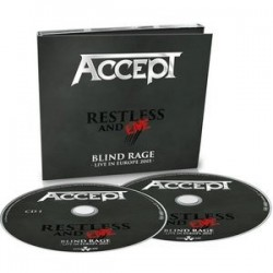 Accept-Restless And Live Blind Rage (Live In Europe 2015)