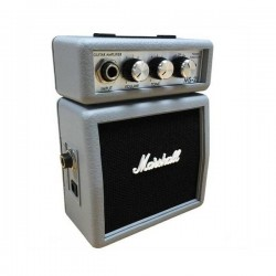 Amplificatori-Marshall Amplification MS-2J Silver Micro Amp