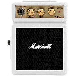 Amplificatori-Marshall Amplification MS-2W White Micro Amp