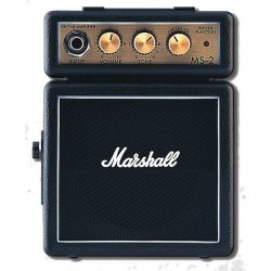 Amplificatori-Marshall Amplification MS-2 Black Micro Amp
