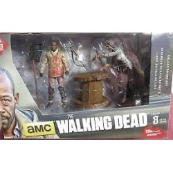 Walking Dead - Morgan With Impaled Walker (Serie 8)