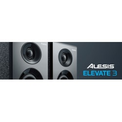 Casse Acustiche-Alesis Elevate 3 Powered Studio Speakers