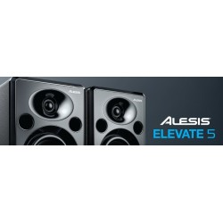 Casse Acustiche-Alesis Elevate 5 Powered Studio Speakers