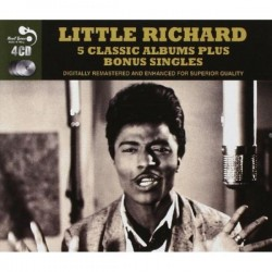 Little Richard-Five Classic Albums Plus Bonus Singles