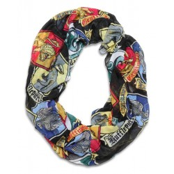 Harry Potter-Crest Infinity Loop Scarf (Foulard)