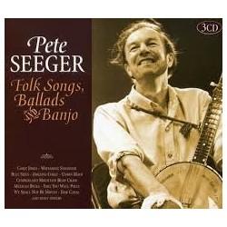 Pete Seeger-Folk Songs, Ballads And Banjo