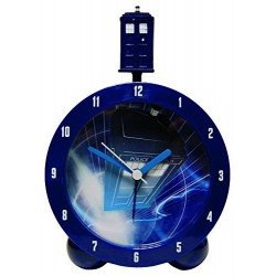 Dr Who-Topper Alarm Clock With Tardis Sound Effects
