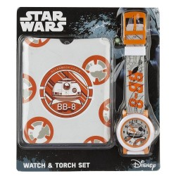 Star Wars-Star Wars BB8 Quartz Watch & Torch Set