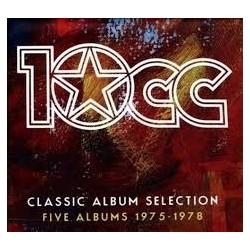 10CC-Classic Album Selection (Five Albums 1975-1978)
