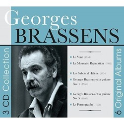 Georges Brassens-3 CD Collection/ 6 Original Albums