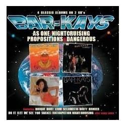 Bar-Kays-As One/Nightcruising/ Propositions & Dangerous