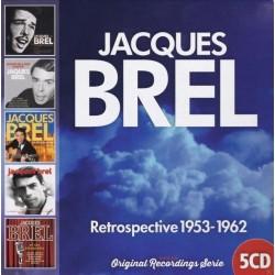 Jacques Brel-Retrospective 1953-1962