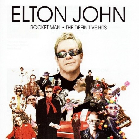 Elton John-Rocket Man (The Definitive Hits)