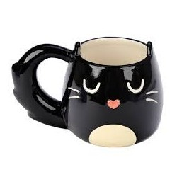 Gatti Merchandise-Cat Shaped Mug (Tazza Gatto)