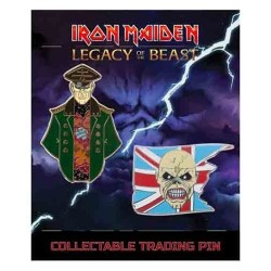 Iron Maiden-Legacy Of The Beast Set 1 Corrupt General & Trooper Pin (Spille in Metallo)