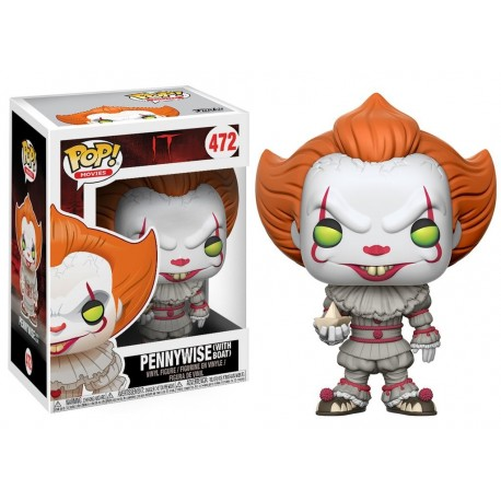 It-Pop! Movies Pennywise (With Boat) Chase Limited Edition (472)