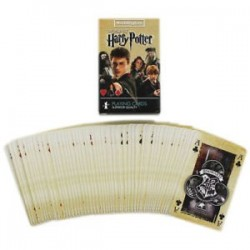 Harry Potter-World Of Harry Potter Playing Cards