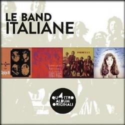 Italiani Artisti Vari-Le Band Italiane Quattro Album Originali