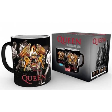 Queen-Queen Heat Change Mug (Tazza Cambia Immagine Con Calore)