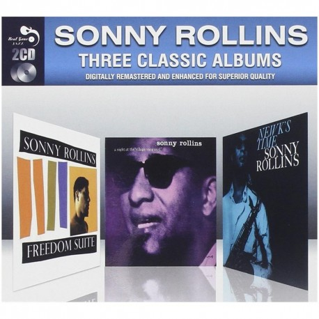 Sonny Rollins-Three Classic Albums