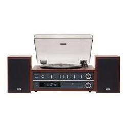 Giradischi (Turntable)-Teac MCD 800 Cherry Kit Audio All in one