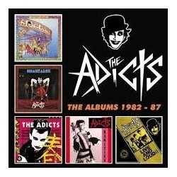 Adicts-Albums 1982-87