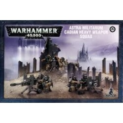 Warhammer 40,000-Astra Mitilarum Cadian Heavy Weapon Squad