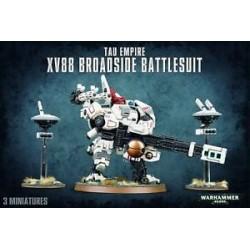 Warhammer 40,000-T'au Empire XV88 Broadside Battlesuit