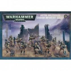 Warhammer 40,000-Astra Mitilarum Cadian Infantry Squad