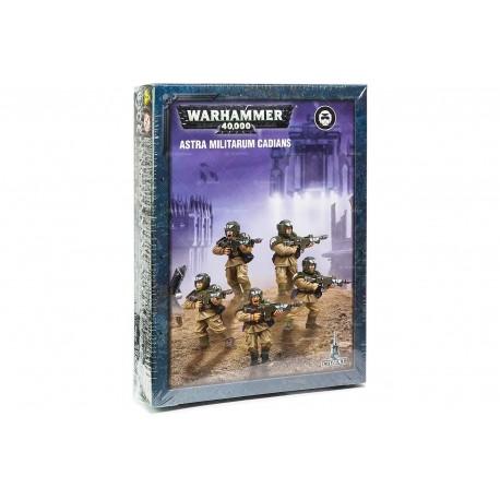 Warhammer 40,000-Astra Militarum Cadians