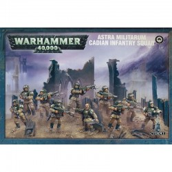 Warhammer 40,000-Astra Mitilarum Cadian Command Squad