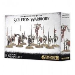 Warhammer Age Of Sigmar-Deathrattle Skeleton Warriors