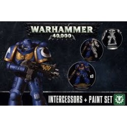 Warhammer 40,000-Intercessors+Paint Set