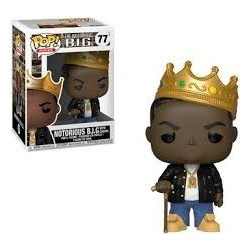 Notorious B.I.G.-Pop! Rocks Notorious B.I.G. With Crown (77)