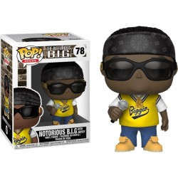 Notorious B.I.G.-Pop! Rocks Notorious B.I.G. With Jersey (78)