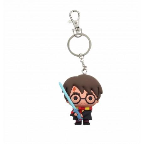 Harry Potter-Harry Potter With Sword 3d Rubber Keychain (Portachiavi)