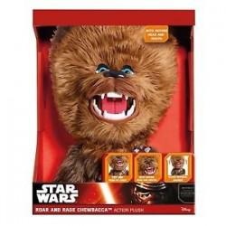 Star Wars-Chewbacca Roar And Rage Plush 40 Cm (Pupazzo Con Suoni E Movimenti)