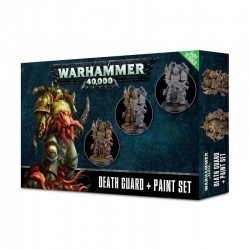 Warhammer 40,000-Death Guard+Paint Set
