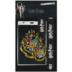 Harry Potter-Laynard With Rubber Keychain Hogwarts