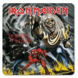 Iron Maiden-Number Of The Beast Coaster (Sottobicchieri)