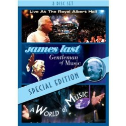 James Last-Live At The Royal Albert Hall/Gentleman Of Music/World Of Music