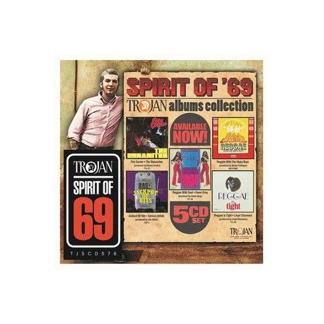 Reggae Artisti Vari-Spirit Of '69 (Trojan Album Collection)