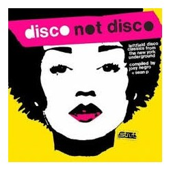Dance Music Artisti Vari-Disco Not Disco