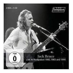 Jack Bruce-Live At Rockpalast 1980-1983 And 1990