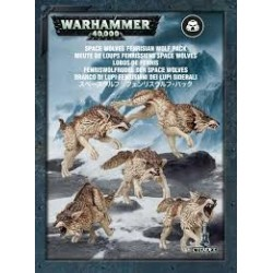 Warhammer 40,000-Space Wolves Fenrisian Wolf Pack