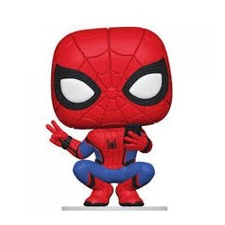 Marvel-Pop! Spider-Man Far From Home (Hero Suit)