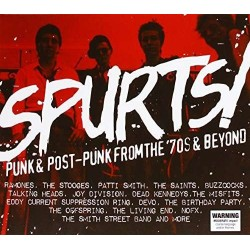 Rock Artisti Avri-Spurts! Punk & Post-Punk From The '70s & Beyond
