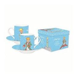 Petit Prince (Piccolo Principe)-Espresso Mug Set Lyght Blue